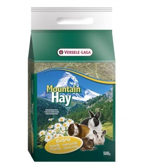 Mountain Hay - Feno da montanha com camomila 500g