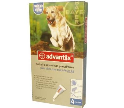 Advantix Cães mais 25 kg