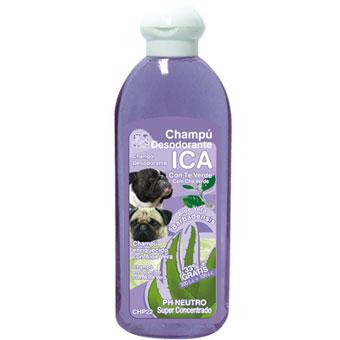 ICA Champô Desodorizante com Chá Verde 400ml