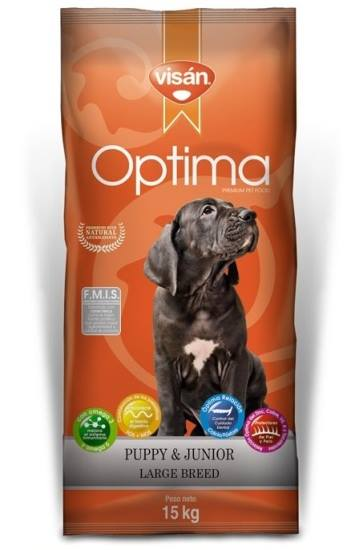 Visan Optima Puppy Large 15Kg