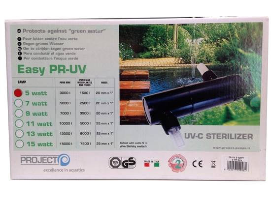 Easy PR-UV 5W Filtro Ultra Violeta