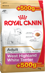 RC BHN West Highland White Terrier 500g (+500g Gratis)