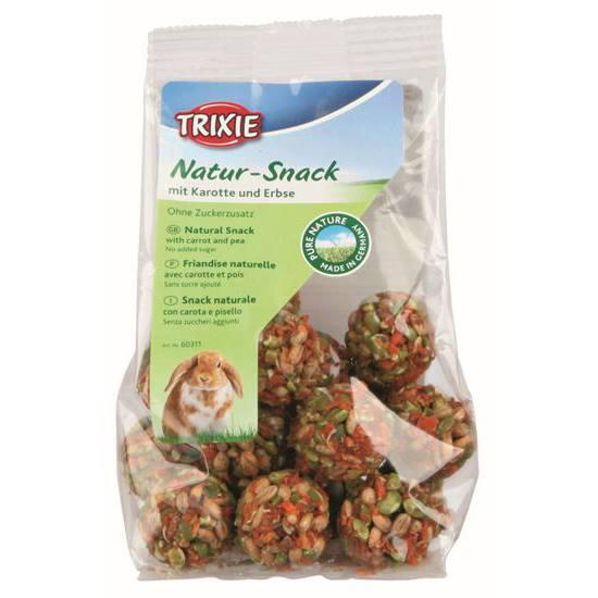 Natur-Snack - Bolinhas c/ Cenoura e Ervilhas 140g