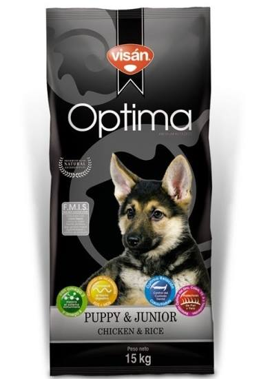 Visan Optima Puppy Frango & Arroz