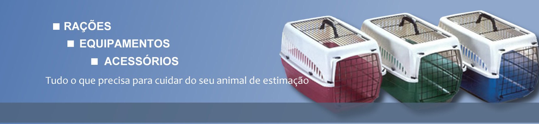 Produtos para cão