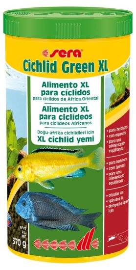 sera Cichlid Green XL 1L (370g)