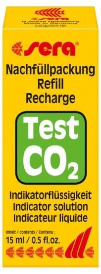 sera  Test Permanente de CO2 (Solução de Recarga)