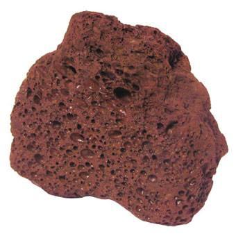 Rocha Vulcânica Vermelha Kg