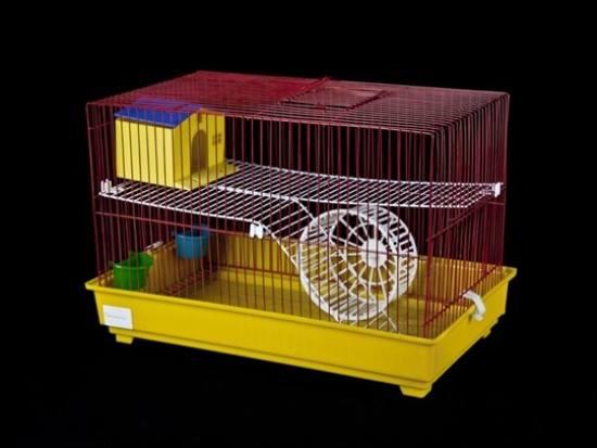 Gaiola Hamster Lux Plastificada