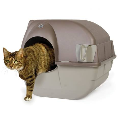 Roll' N Clean Litterbox