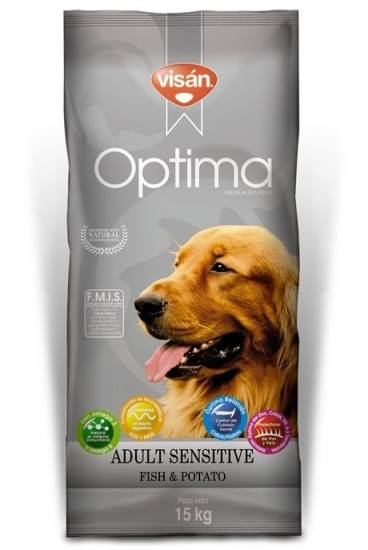 Visan Optima Adult Sensitive Salmao & Batata
