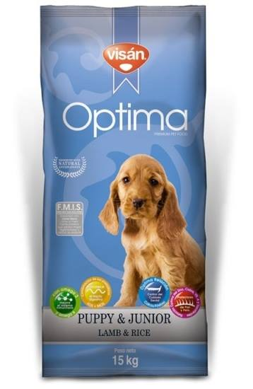 Visan Optima Puppy Borrego & Arroz