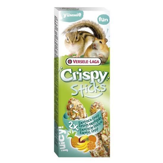 Crispy Sticks Fruta Exótica 2x55g