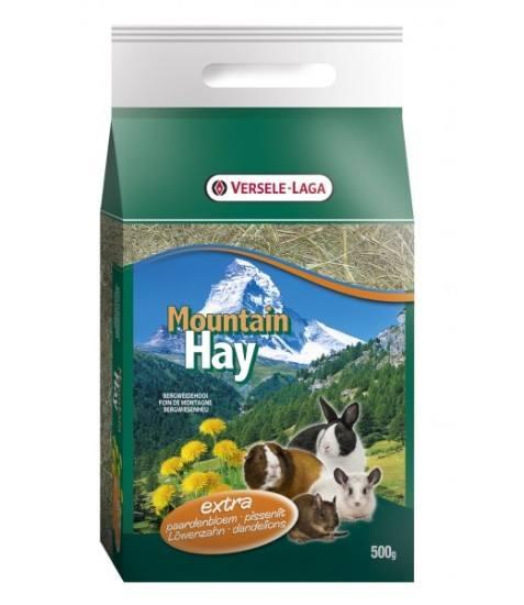 Mountain Hay - Feno da montanha com dente-de-leão 500g