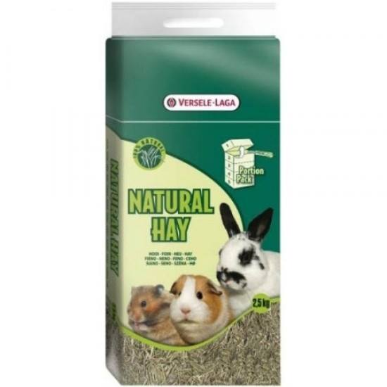 Natural Hay Portion Pack – Feno Natural 2,5kg