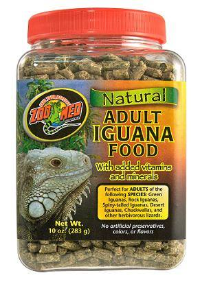 Natural Iguana Food (Adult Formula)