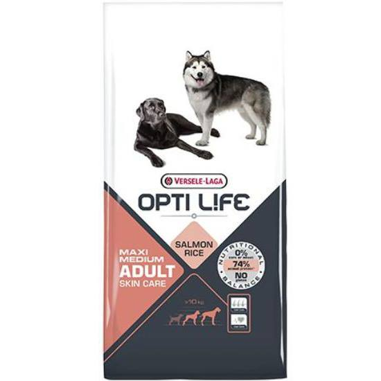 Opti Life Adult Skin Care Medium & Maxi 12,5kg