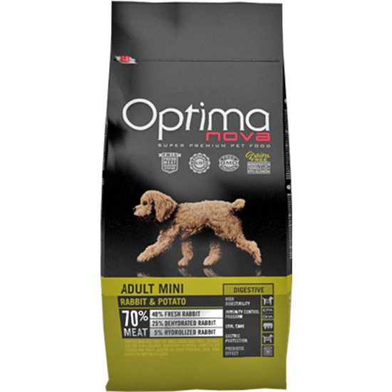Optima Nova Adult Mini Coelho & Batata 2Kg
