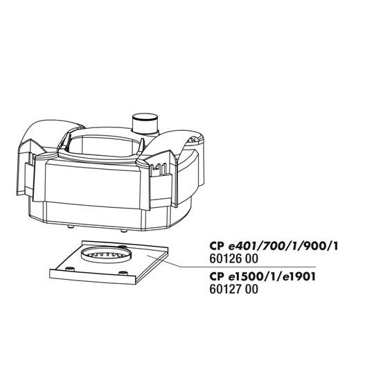 JBL Placa de Distribuição p/ CristalProfi e
