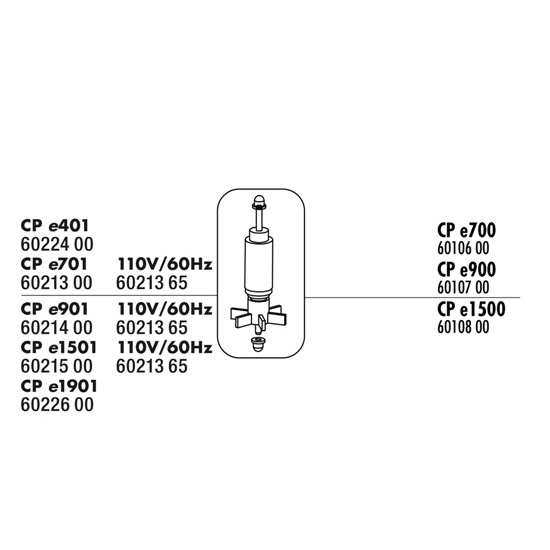JBL Turbina c/ Veio p/ CristalProfi e