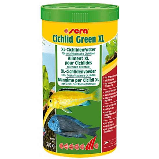 Sera Cichlid Green XL 1.000ml (370g)