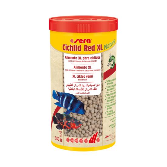 Sera Cichlid Red XL Nature 1.000 ml (330 g)