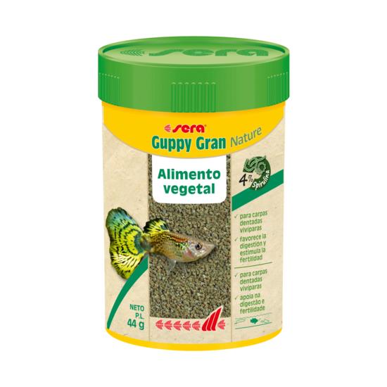 Sera Guppy Gran Nature 100 ml (44 g)