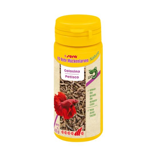 Sera FD Larvas Vermelhas de Mosquito Nature 50 ml (5 g)